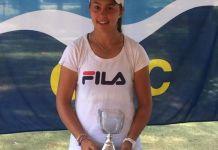 Guillermina Grant repite la actuación del Uruguay Bowl, esta vez en el Cantegril Bowl, logrando el título de campeona en singles y en dobles