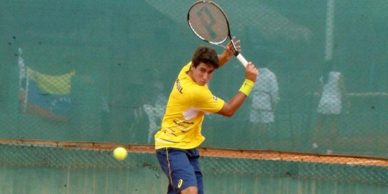 Orlando Luz na Federação Paulista de Tenis por Jonas Campos