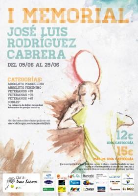 I MEMORIAL JOSE LUIS RODRIGUEZ CABRERA