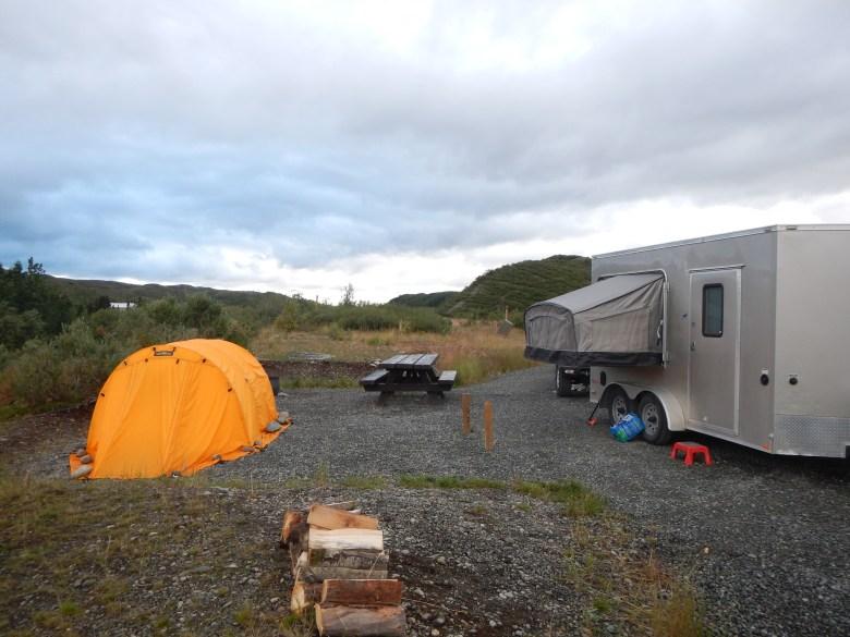 Tenkara Alaska Paul Vertrees - Camp