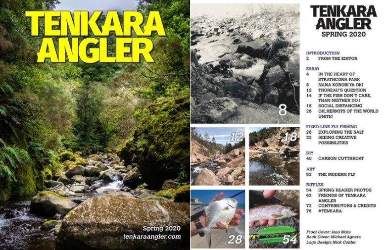 Tenkara Angler - Spring 2020 Spread