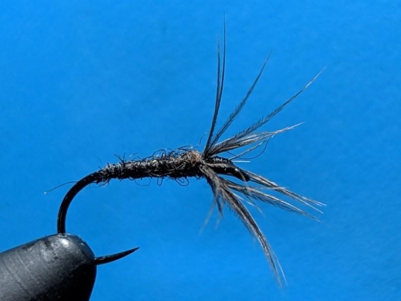 SP19 - Appalachian Tenkara Anglers Fly Swap - Dan Pierce Wild Maine Turkey Kebari