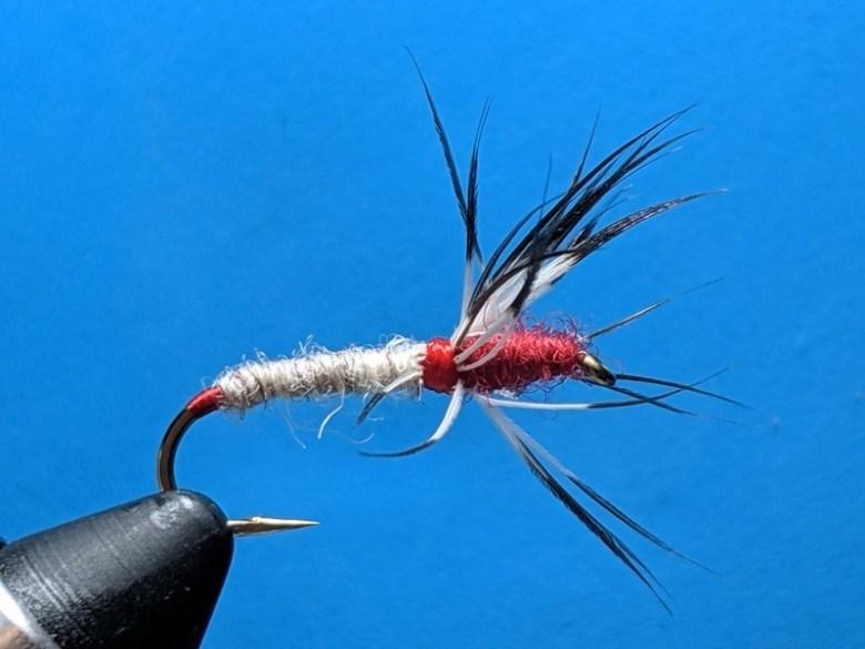 SP19 - Appalachian Tenkara Anglers Fly Swap - Jason Sparks Red Kebari