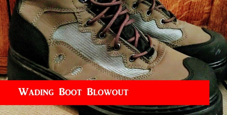 Jason Sparks - Wading Boot Blowout - Title