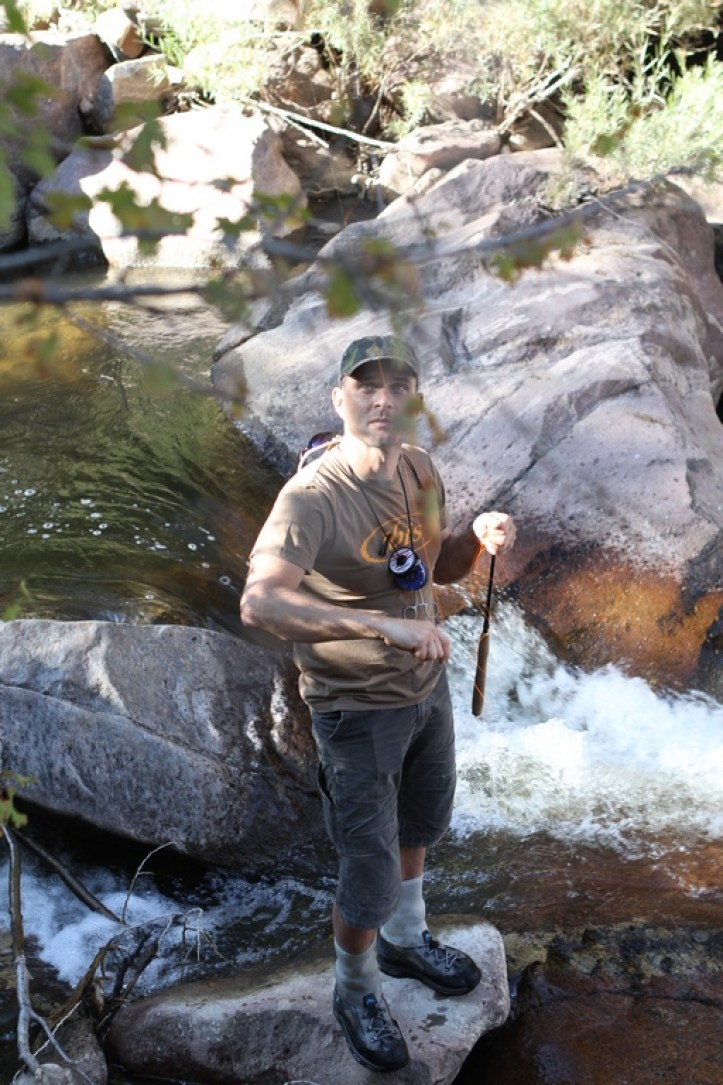 Tenkara Frustrations - Daniel Galhardo - Up in Tree