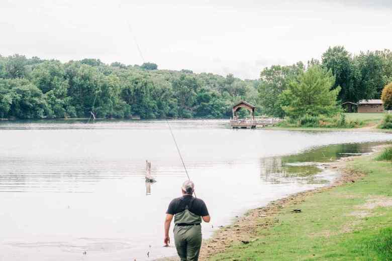 Aldric Nelson - Tenkara Introduction Fishing - Pond