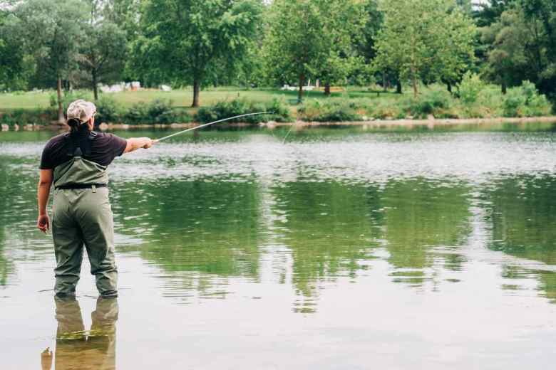 Aldric Nelson - Tenkara Introduction Fishing - Cast