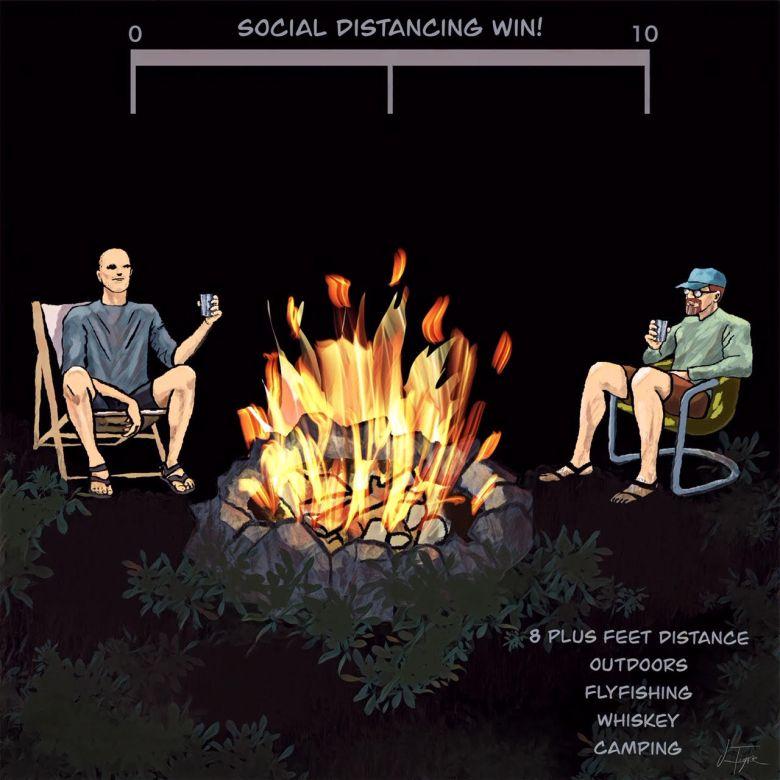 Jim Tignor - Loops - Social Distancing Win