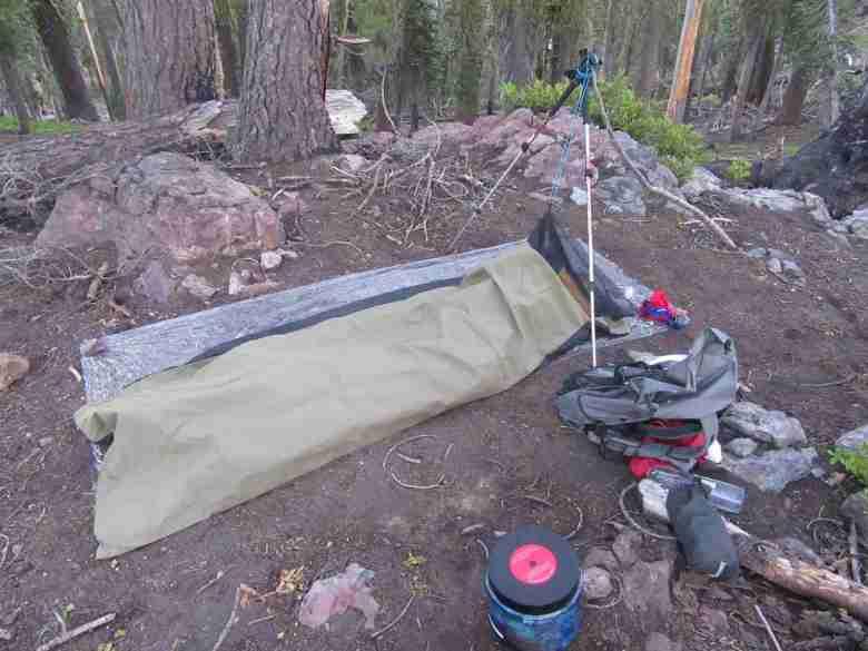 Tristan Higbee - Ultralight Backpacking Tenkara - Bivy & Ground Sheet