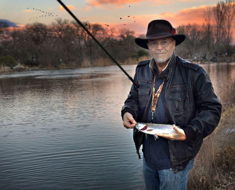 Bob Long - Tenkara Stocked Trout - New Mexico Stocked Rainbow