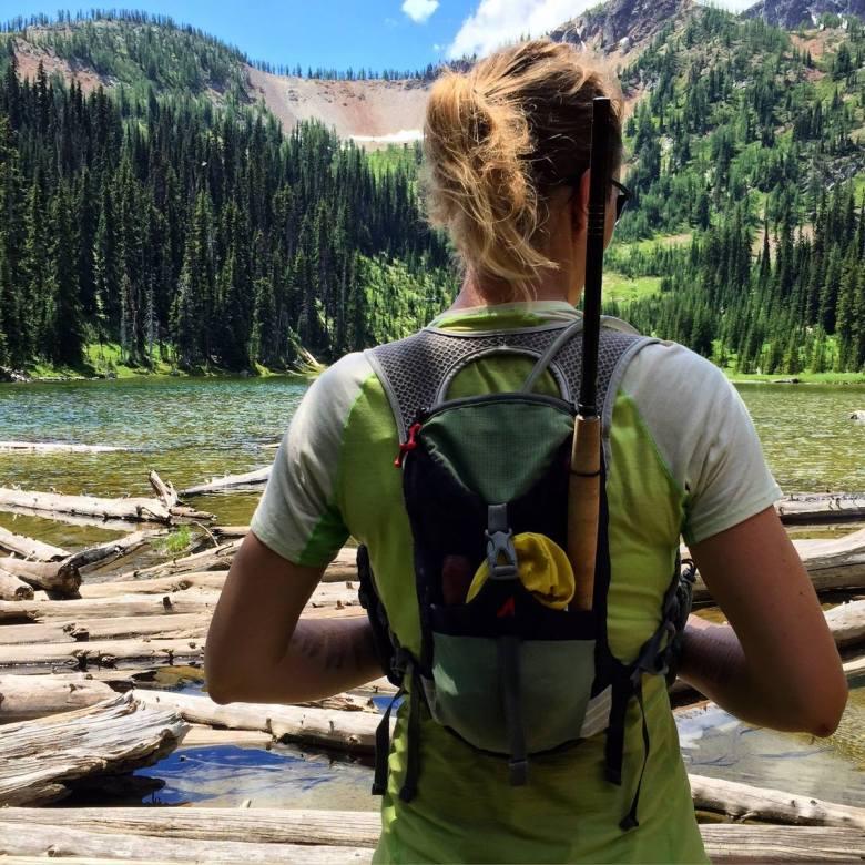 Brittany Aae - Release - Tenkara Backpack