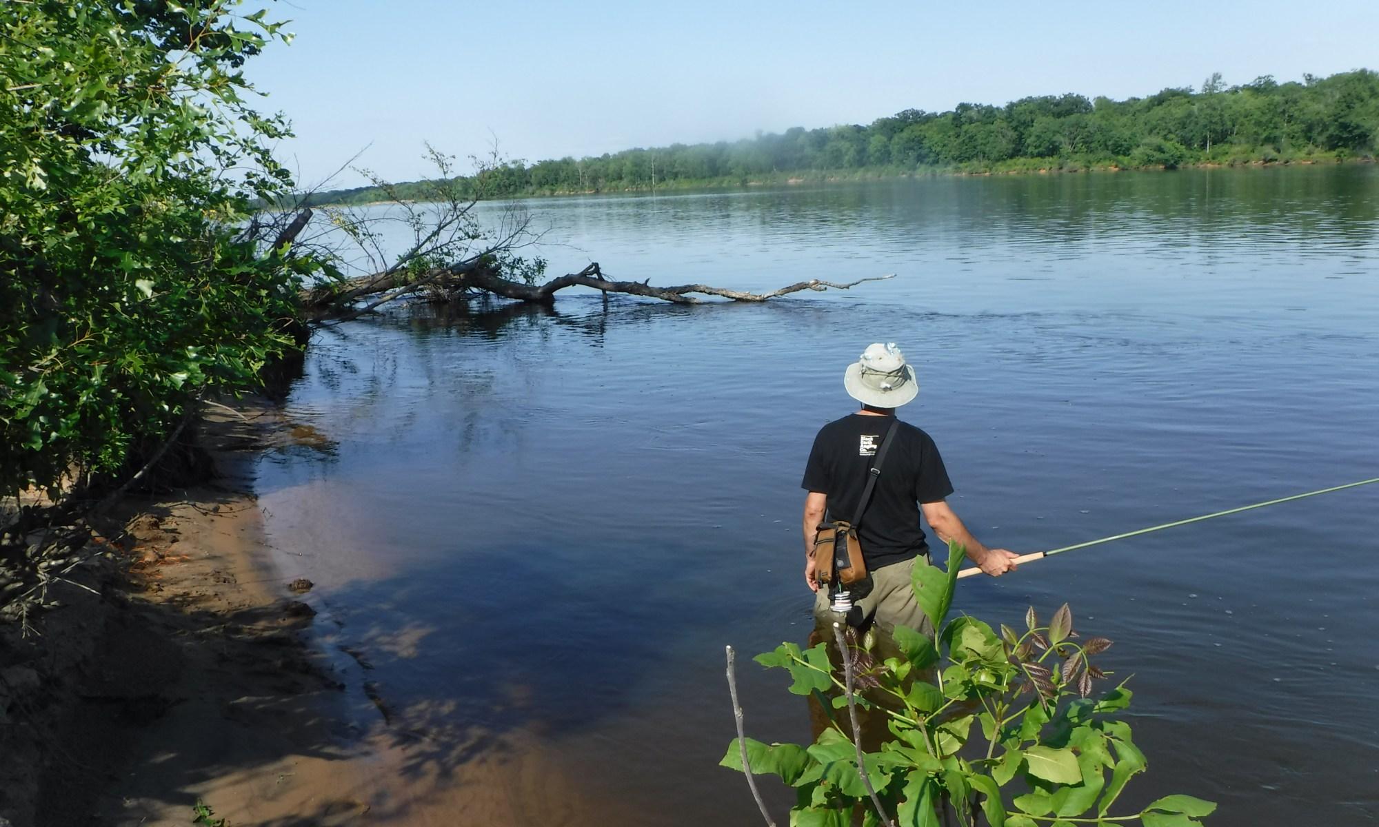 Wisconsin River Smallmouth Tekara Rod