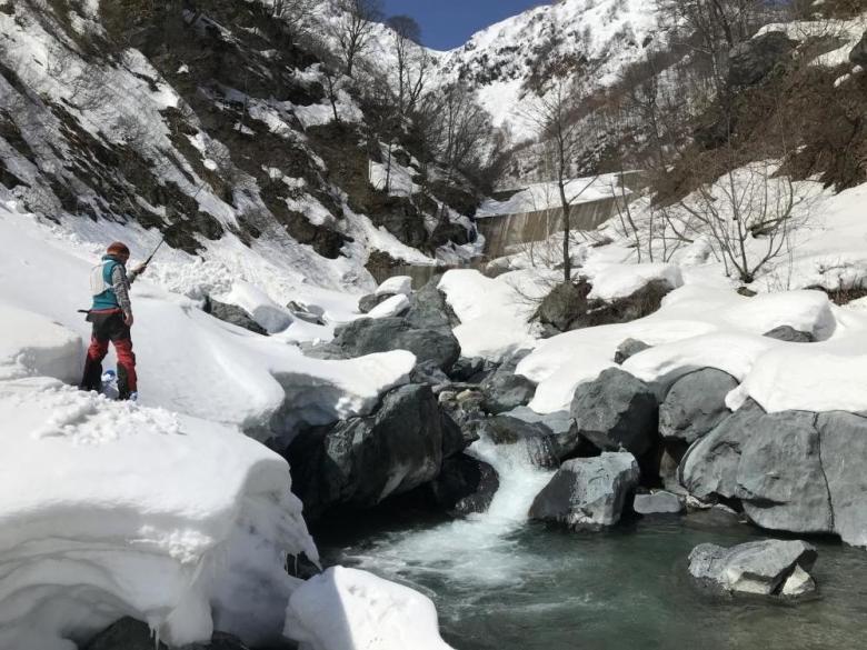 Satsuki Tanaka - Trends in Japanese Tenkara - Skiing