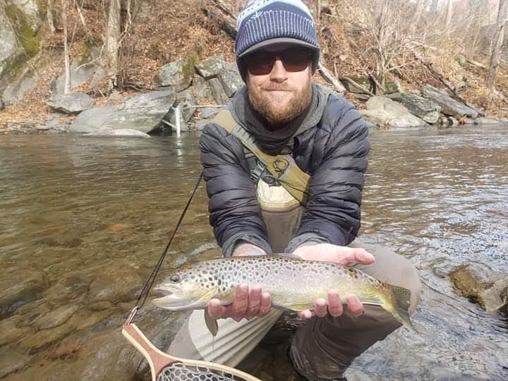Winter Tenkara Fishing Joshua Brooks