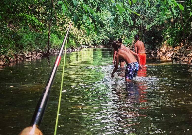 Boys of Summer - Tenkara Angler - Jason Sparks - Kids