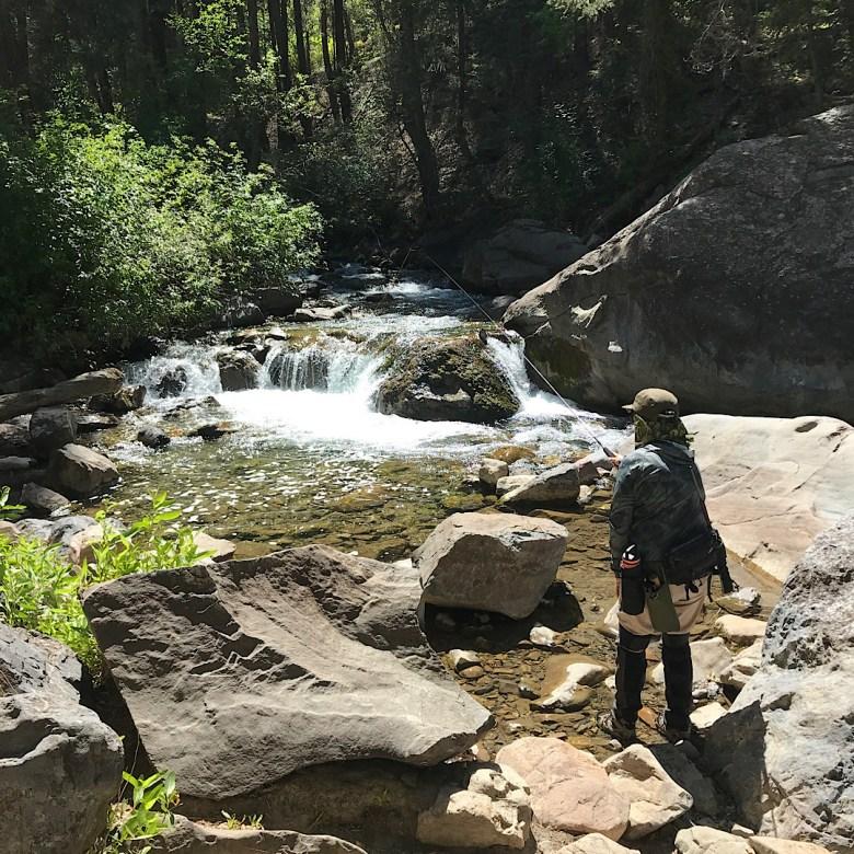 Three Close Quarters Tenkara Rods - Tenkara Angler - Ana Encenique - Stream