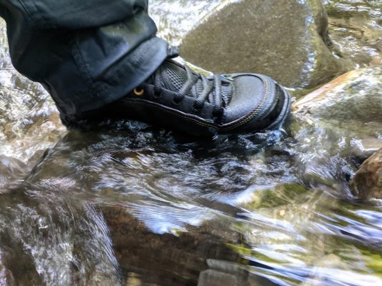 Astral Rassler 2.0 Fishing Wading Shoe - Tenkara Angler - On wet rock