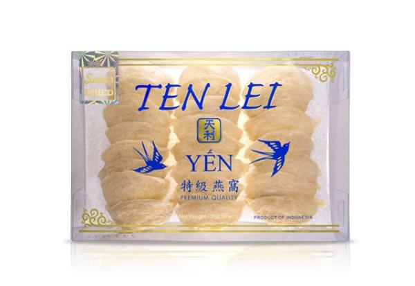 edible birds nest blue label 250 gram super white