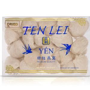 edible birds nest 250 gram bulan white