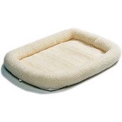 Precision Pet Products SnooZZy with Bumper Original Fleece Crate Mat