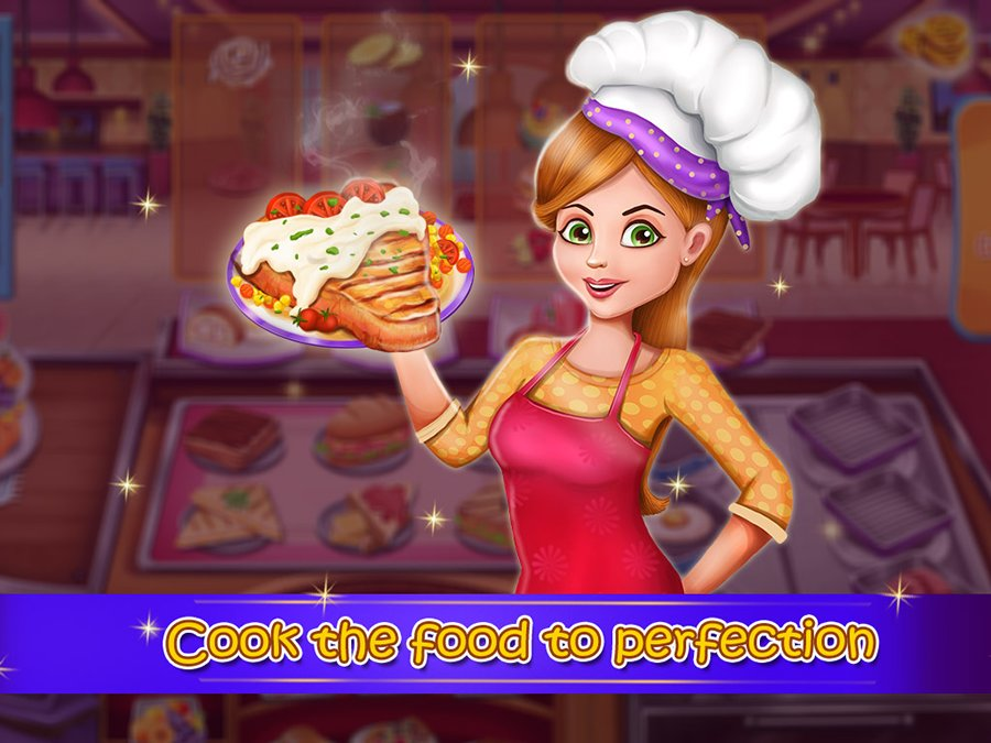 Cook Your Own Food Restaurant Games