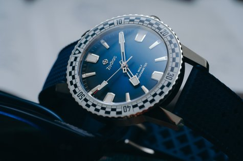 Zodiac Super Sea Wolf GMT Rally - Image from Topper Jewelers
