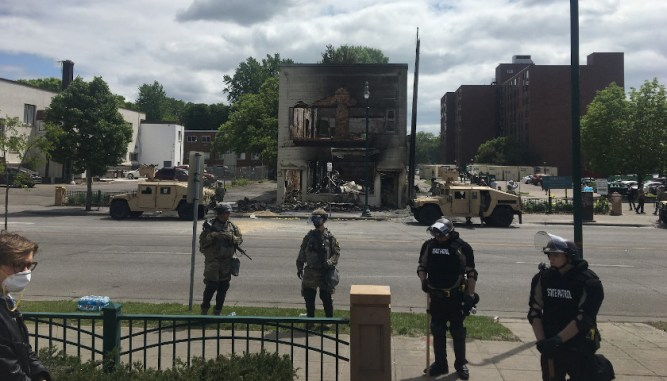 A City in Ruins: Three Nights of Riots Leave South Minneapolis ...