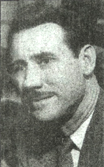 black and white photo of Evan Means