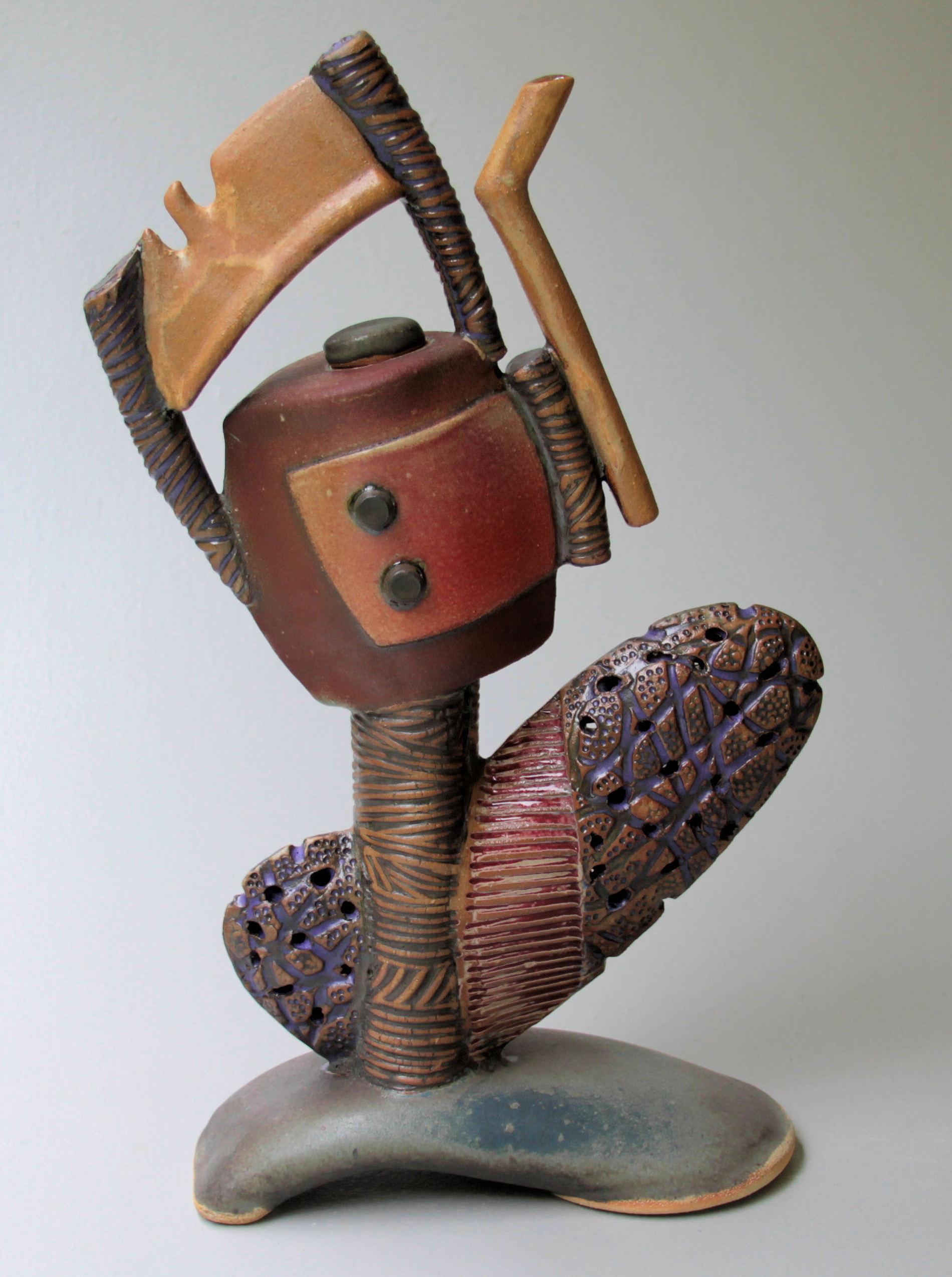 Sculptural Teapot by Helene Fielder