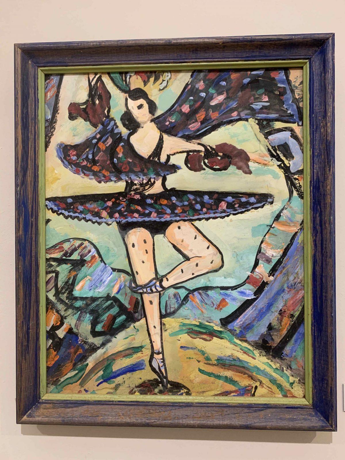 Ballerina by Ethel Davis