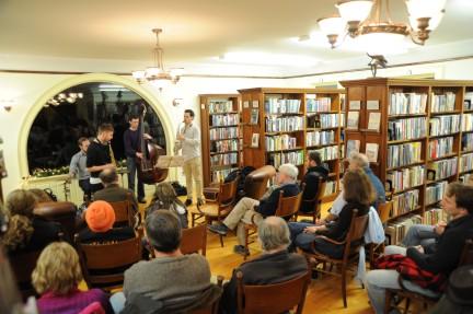 Dec. 2012 performance of Matador Jazz band. Photo courtesy: J.D. Sloan