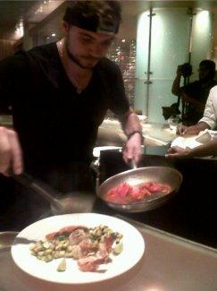 Wawrinka cooking