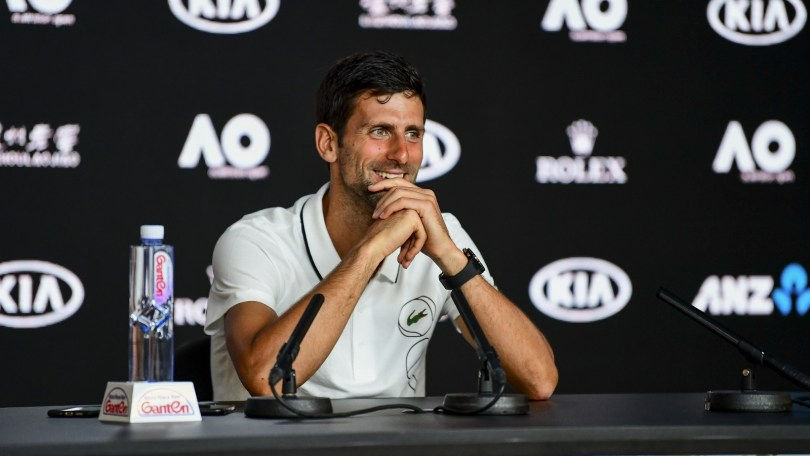 "Novak Djokovic ""Roger Played Well"""