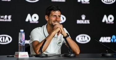 "Novak Djokovic ""Roger Played Well"""