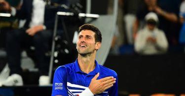 Novak Djokovic Press Conference after reaching the final