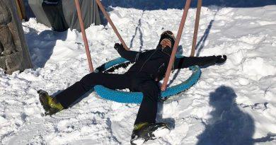 Novak Djokovic Enjoying The Holiday