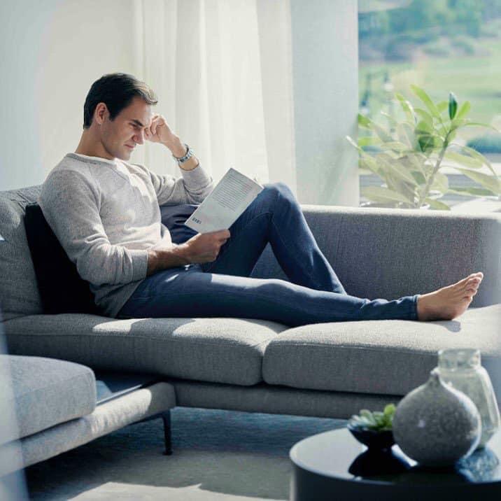 Roger Federer Ad for Uniqlo Jeans