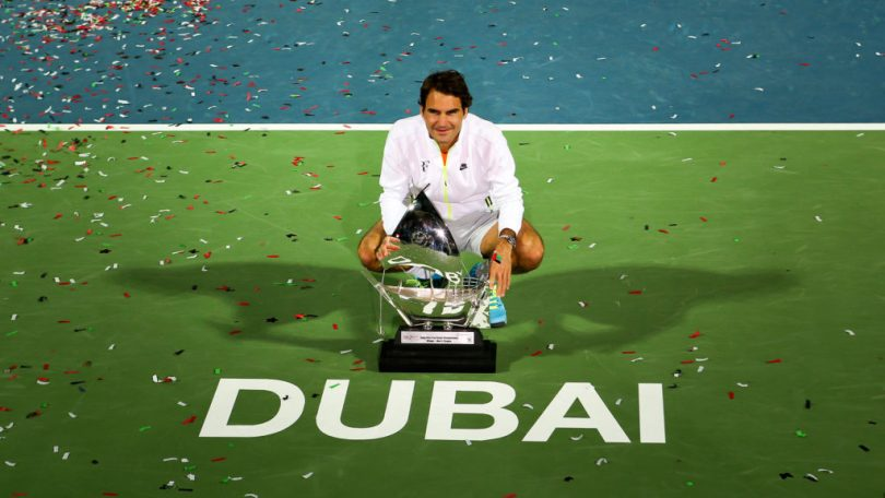 """Roger Federer """"I'll try to win the 100th in Dubai """""""