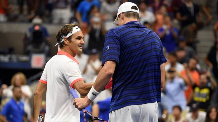 This is what Roger Federer said about facing Isner