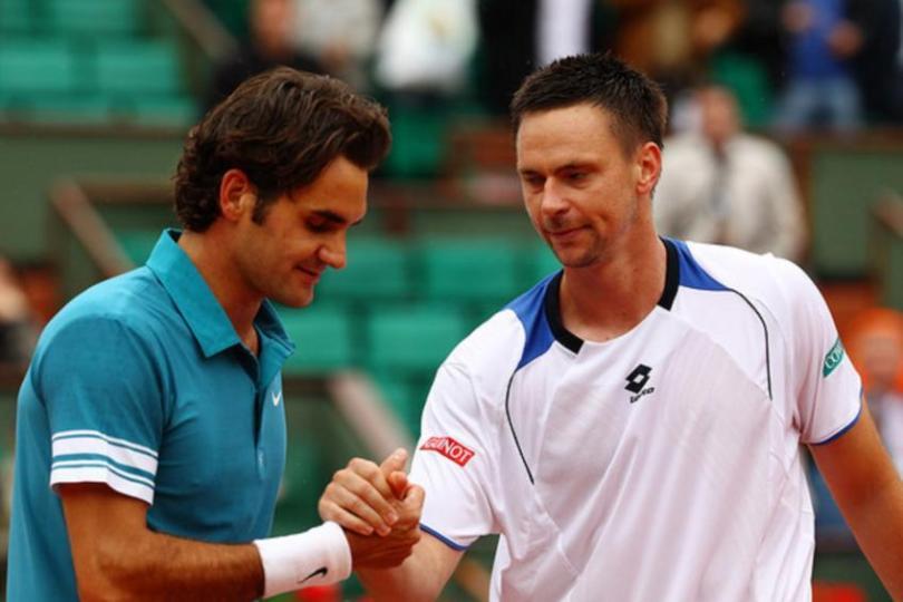 """Robin Soderling """"Djokovic will surpass Federer's slam record"""""""