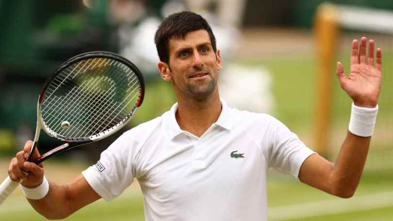 Novak Djokovic Wimbledon 2019 - Draw