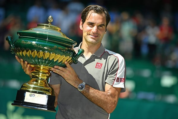 This is what Roger Federer said after winning 10th Halle