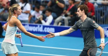 Will Andy Murray play mixed double with Sharapova?