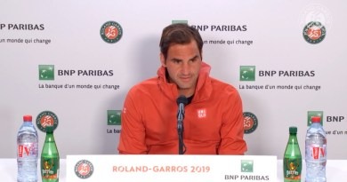 Roger Federer Press Conference before the Clash Vs Nadal