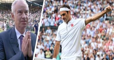 John McEnroe gives verdict on Federer's performance