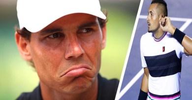 Rafa Nadal: Kyrgios can do whatever He wants