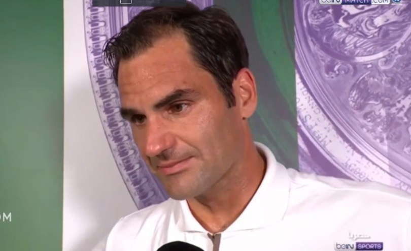This is what Roger Federer said after the match Vs Nadal