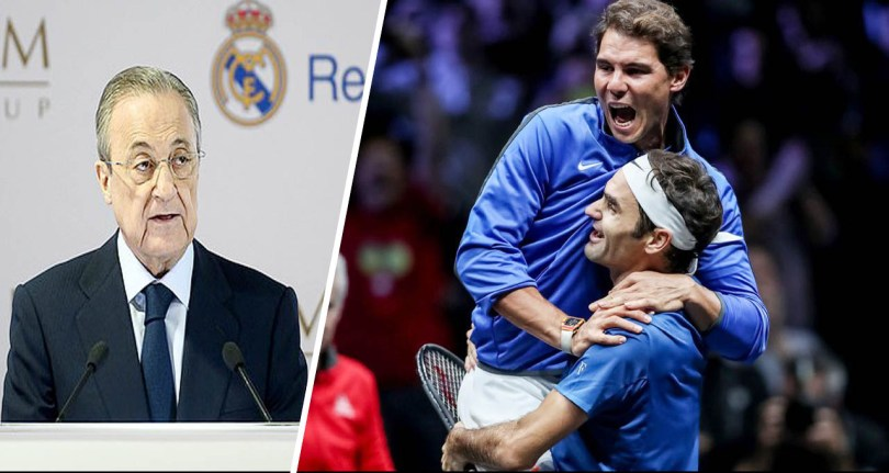 Real Madrid wants to host Federer vs Nadal match at the Bernabeu