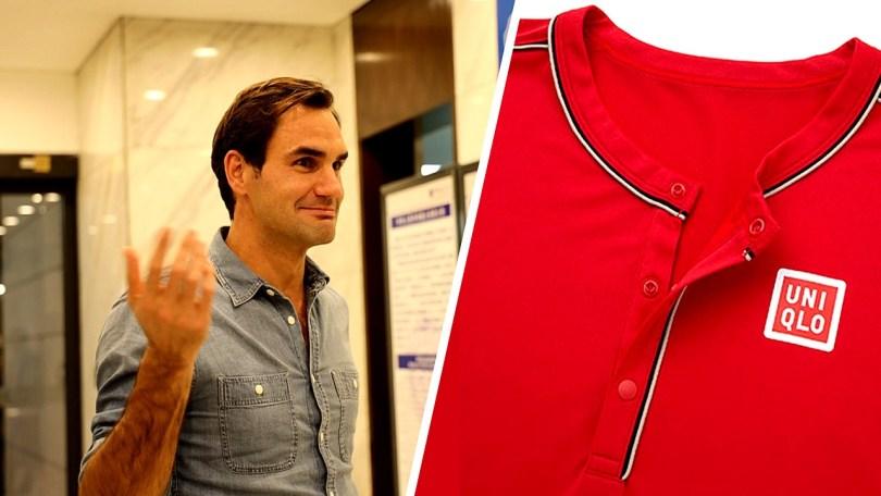 Roger Federer Outfit for ATP Shanghai Rolex 2019