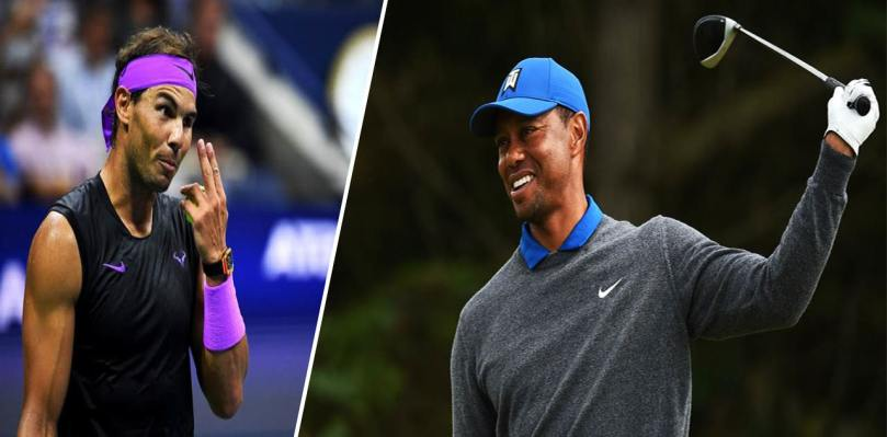 Tiger Woods reveals his relationship with Rafael Nadal